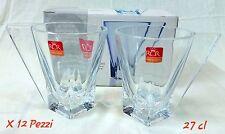 12 Bicchieri Tazza Caffè Vetro The Té  Mug RCR Fusion Tazzine Grandi Aperitivo