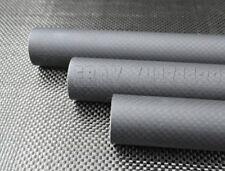 15mm*16mm*1000mm Matt Roll Wrapped Carbon Fiber Tube 3K Quadcopter arm 3M 16*15