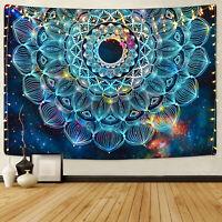 Mandala Wall Tapestry Colorful Galaxy Wall Hanging Tapestry Blanket Home Decor