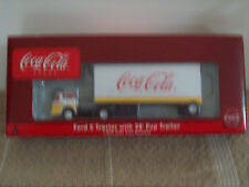 ATHEARN COCA-COLA FORD (C) TRACTOR WITH 28' PUP TRAILER