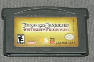 Pirates of the Caribbean: The Curse of the Black Pearl Nintendo Game Boy Advance