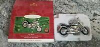 Hallmark 2000 Harley Davidson Keepsake Ornament Fat Boy Die-Cast New NIB