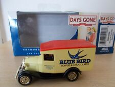 "Lledo DG013082 Model A Ford Van ""BLUE BIRD"" Approx 3"" long - Boxed"
