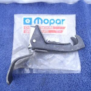 NOS Hood Latch 1974-76 Plymouth Duster Valiant Scamp A-Body Safety Catch 3861013