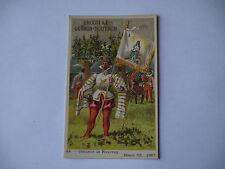 CHROMO PUBLICITAIRE CHOCOLAT GUERIN-BOUTRON N°419 HENRI III CORNETTE DE ROUVRAY