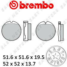07HO01.30 COPPIA PASTIGLIE FRENO BREMBO ANTERIORE HONDA CB F1 750 75>77