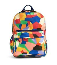 Vera Bradley Lighten Up Just Right Backpack - Pop Art brand new  large