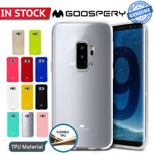 Galaxy S9 Plus Note 8 Case for Samsung Mercury Goospery Rubber Soft Jelly Cover