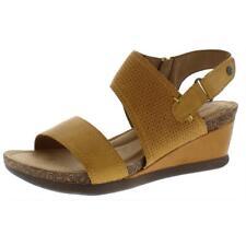 Cobb Hill para mujer Shona Cuero Slingback Zapatos Sandalias de Cuña Puntera Abierta BHFO 9032