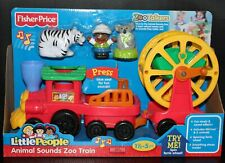 LITTLE PEOPLE ZOO TALKERS ANIMALS TRAIN MUSIC SOUNDS FISHER PRICE 2012 NEW