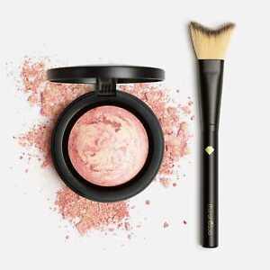 Marble Blush + Highlight Brush Minerals Paros Pink