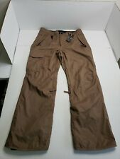 686 InfiDry Snow Pants All Access Fit Mens Large Brown NWT HTF