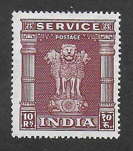 India, 1950, SG O164;  Sc O125, mint hinged.