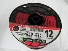 UNITED COPPER INDUSTRIES THHN/THWN-2/MTW RED 600V APPROX.400FT,12 STRANDED