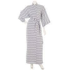 Ladies Cotton Japanese Nemaki Kimono