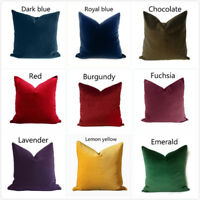 Velvet Cushion Cover Soft Pillowcover Case for Sofa Home Decoration Multi Colors
