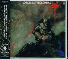 DISILLUSION JAPAN VERSION *** 2016 JAPAN RMST CD *** LOUDNESS - AKIRA TAKASAKI