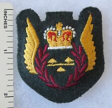 Post WW2 1970s ROYAL CANADIAN AIR FORCE RCAF LOAD MASTER PADDED WINGS PATCH