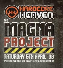 HARDCORE HEAVEN 5/4/08 Classic Rave Flyer