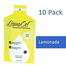 LIQUACEL CONCENTRATED LIQUID PROTEIN PACKETS LEMONADE 1 OZ PACKETS 10 PACK!