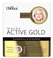 L BIOTICA MASKA ACTIVE GOLD HYDROGEL MASK L'BIOTICA , LBIOTICA