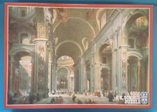 5000 Piece Puzzle St. Peters Cathedral by Givanni Paolo Pannini FX Schmid RARE