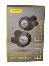 Jabra Elite 65t Active Earbud Bluetooth Splash proof - Silver Black Great state!