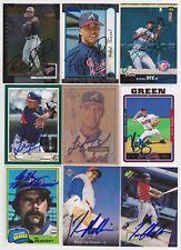 Atlanta Braves Signed auto cards PICK LIST 1.39-3.99 each autograph MLB HOF