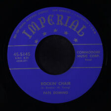 FATS DOMINO: Rockin' Chair / Careless Love 45 (repro) Blues & R&B
