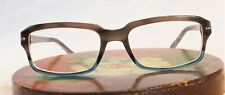 Authentic Prada VPR09N RY0-1O1 Blue/Grey 52mm Frames Eyeglasses RX Italy