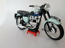 "1:6 scale motorcycle 1959 Triumph Bonneville T120R ""Blue  tank"" UNIQUE!!"