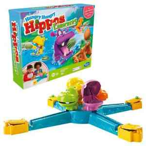 Hungry Hungry Hippos Launchers Electronic Board Game Challenge Eat Balls Family