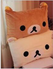A Relax Bear Rilakkuma San-X Cute Plush White Pillow Case 63*43cm Top Sale funny