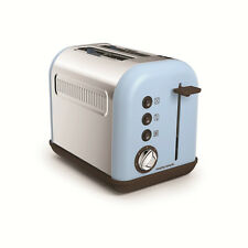 Morphy Richards Accents Azure 2 Slice Electric Toaster with Crumb Tray 222003