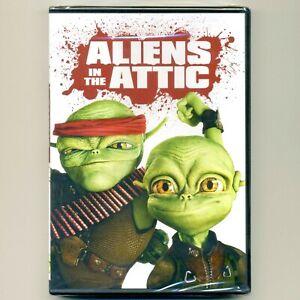 Aliens In The Attic 2009 PG fun family science fiction comedy movie, new DVD