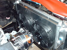 3 Row Performance Radiator + Fan(s) + Shroud For 1970 - 81 Chevy Camaro