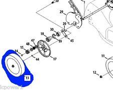 """934-04430 (2) MTD White Troybilt Wheel Assembly 8"""" Set of 2"""