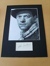 John Ireland Genuine Autograph - UACC / AFTAL.