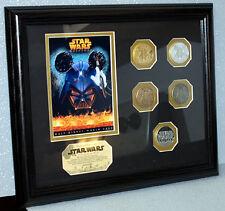 Star Wars Weekends  2005 Framed Coin Set LTD 250
