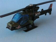 Matchbox Commando Mission Helicopter Green Unboxed Army Military Toy Model UB