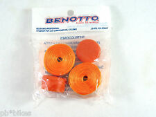 Benotto Orange Handlebar Tape Cello Bar Smooth Vintage Bicycle Original New