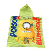 Minion Despicable Kid's Boy's girls beach bath pool swim hoodie towel cotton