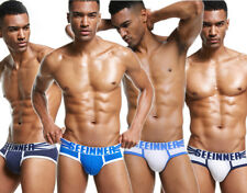Men 4Pcs/set Underwear Boxer Brief Cotton Dot Soft Trunks Underpants M-XL