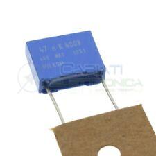 3pz Condensatore 4,7nF 4700pF 630V Poliestere Metallizzato Passo 10mm