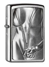 Zippo Zipper Girl, Spring 2015, 2004667, chrome brushed