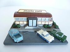 Danbury Mint Modern Diner Pawtucket Rhode Island Classic American Diners 1994