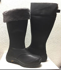 UGG MIKO TALL BLACK WATER RESISTANT LEATHER Boot US 7.5 / EU 38.5 / UK 6 - NIB