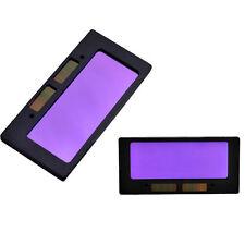 "pair of 3-12 solar Auto Darkening Welding Lens 4-1/4"" x 2"" Filter Fixed Shade 12"