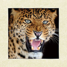 Ferocious Leopard Lenticular 3D Picture Animal Poster Painting Wall Art Decor