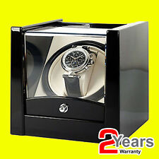 Time Tutelary Watch Winder KA079 For 1x Single Automatic Watch - Black - NEW